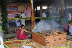 Thrikala Puja and Pancha Devatha Yajnam